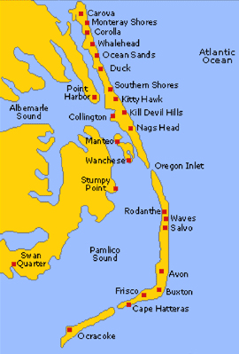 Visiting the OBX: Outer Banks Barrier Islands of North ...
