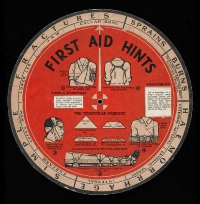 First Aid wheel chart