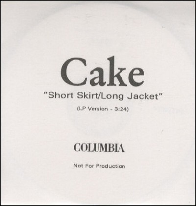 Music Monday: Cake – Short Skirt Long Jacket – DAILY WAFFLE